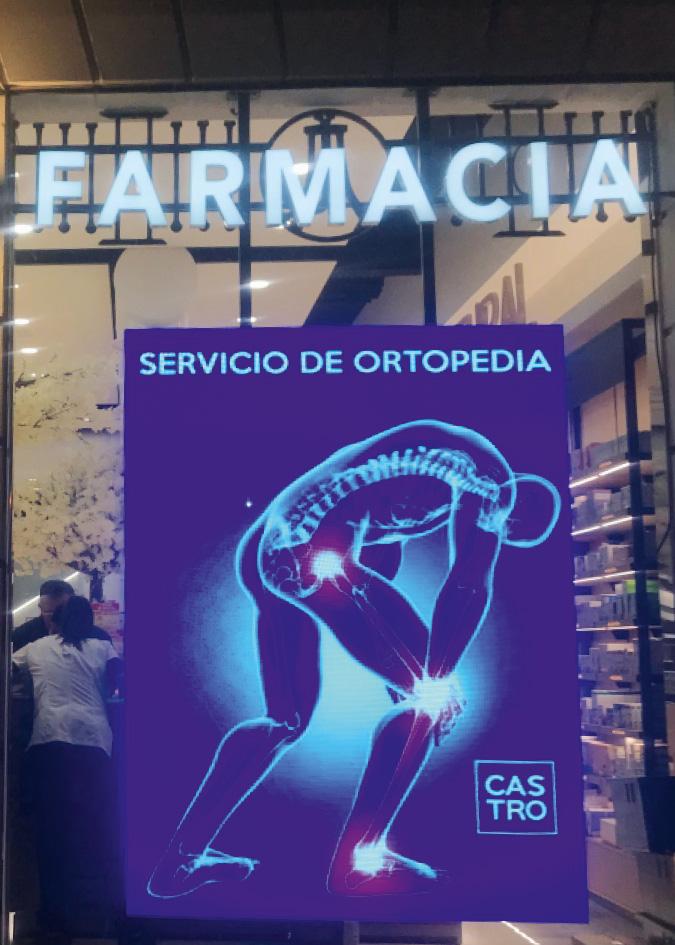 Precios de pantallas led gigantes publicitarias para farmacias
